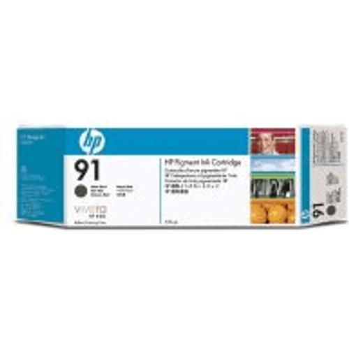 HP HP 91 ( C9480A ) Original 3 Pack Matte Black Ink Cartridge