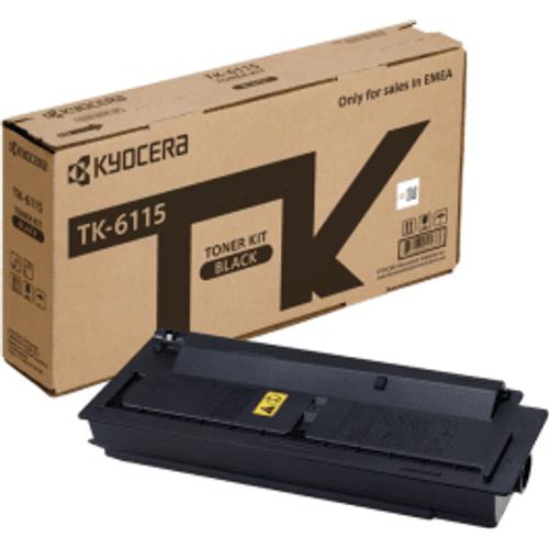 Kyocera Kyocera TK-6115K Black Toner Cartridge (Original)