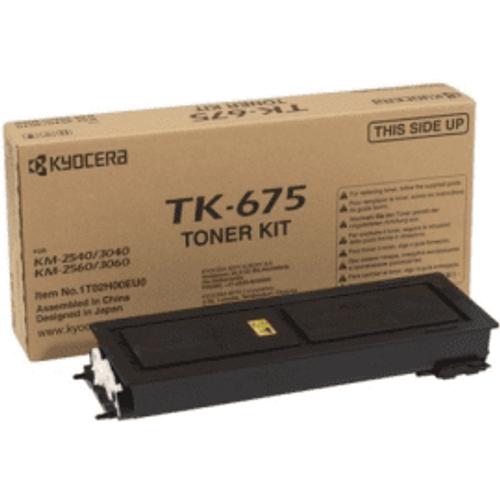 Kyocera Kyocera TK-675 Black Toner Cartridge (Original)