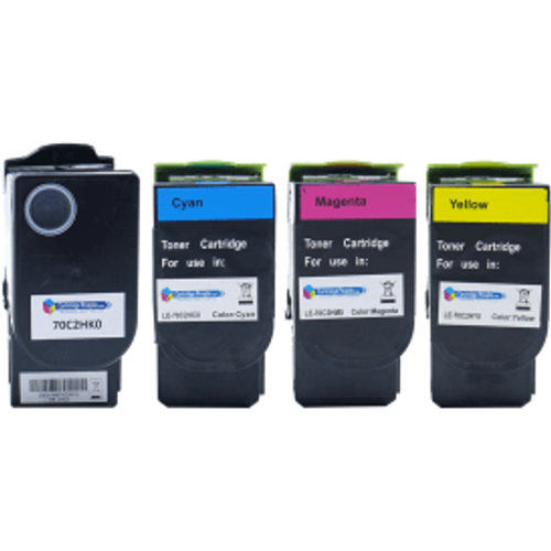 Lexmark Lexmark 702H Compatible High Capacity Black and Colour Toner Multipack (Own Brand)