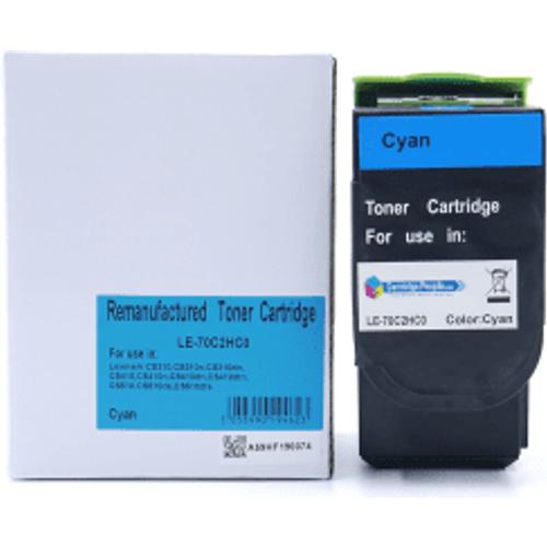 Lexmark Compatible Lexmark 702HC Cyan High Capacity Toner Cartridge (Own Brand)