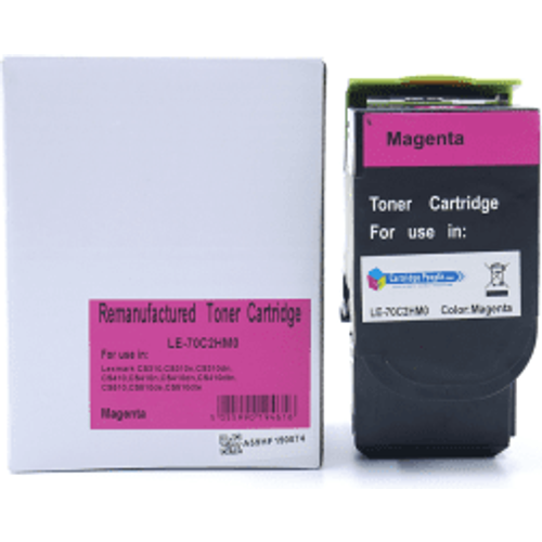 Lexmark Compatible Lexmark 702HM Magenta High Capacity Toner Cartridge - Own Brand
