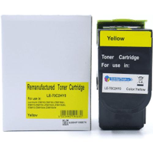 Lexmark Compatible Lexmark 702HY Yellow High Capacity Toner Cartridge (Own Brand)