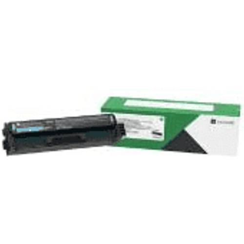 Lexmark Lexmark C3220C0 Cyan Return Programme Toner Cartridge (Original)