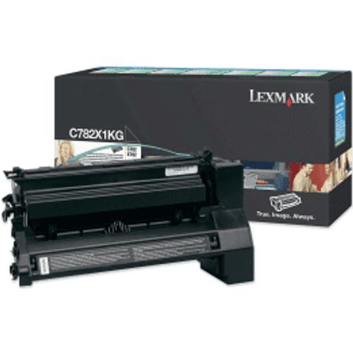 Lexmark Lexmark C782X1KG Black High Capacity Toner Cartridge (Original)