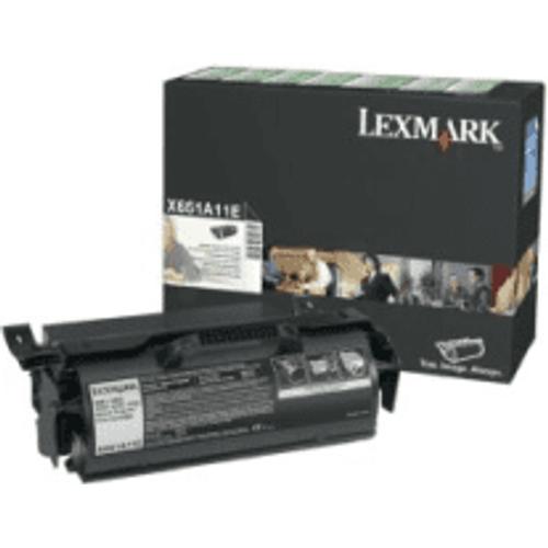Lexmark Lexmark X651A11E Black Toner Cartridge (Original)