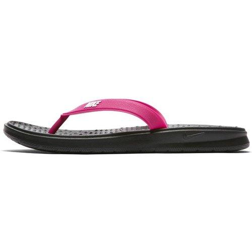 Tong Nike Solay pour Femme - Noir - Nike - Modalova