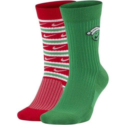 Chaussettes mi-mollet SNEAKR Sox (2 paires) - Nike - Modalova