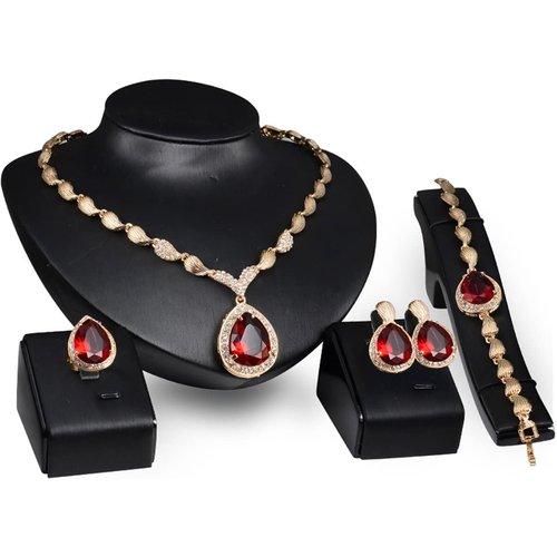 Collier design spiral & Bracelet & Anneau & Boucles d'oreilles - SHEIN - Modalova