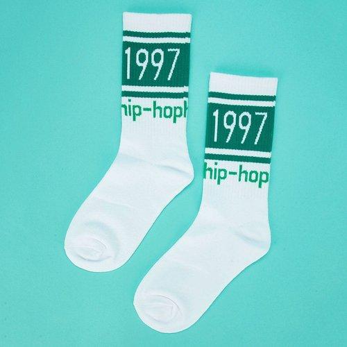 Chaussettes hautes imprimées - SHEIN - Modalova