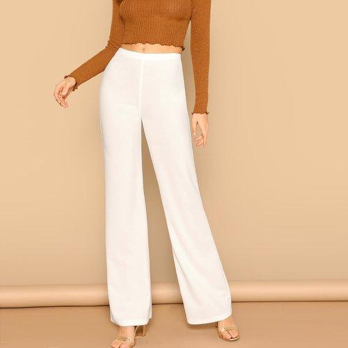 Pantalon taille haute - SHEIN - Modalova