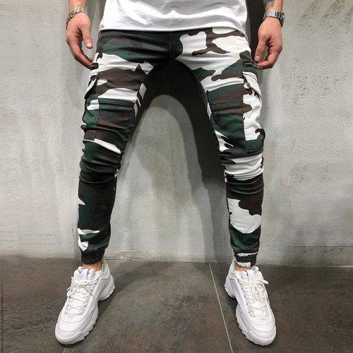 Pantalon de survêtement à imprimé camouflage - SHEIN - Modalova