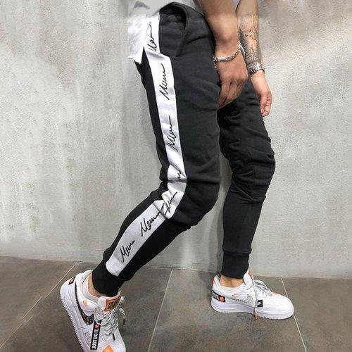 Pantalon de survêtement à imprimé lettres - SHEIN - Modalova