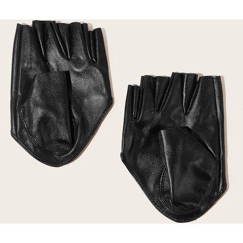 Gants à doigts ouverts en cuir PU - SHEIN - Modalova