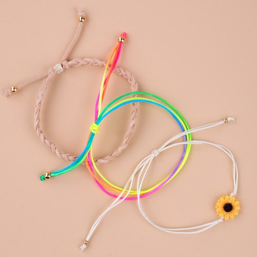Pièces Bracelet à cordon à tournesol - SHEIN - Modalova