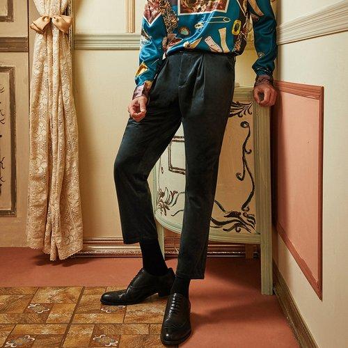 Pantalon en velours - SHEIN - Modalova