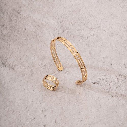 Pièces Bracelet creux & Bague - SHEIN - Modalova