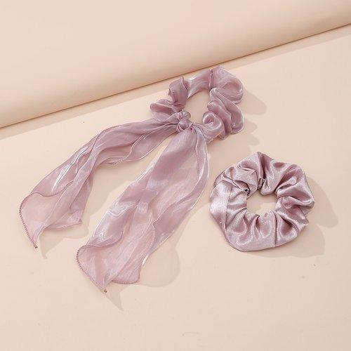 Pièce Chouchou & 1 pièce Chouchou foulard - SHEIN - Modalova