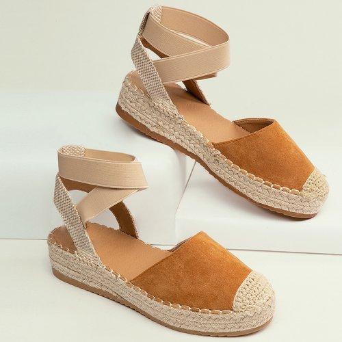 Chaussures Compensées Unicolore - SHEIN - Modalova