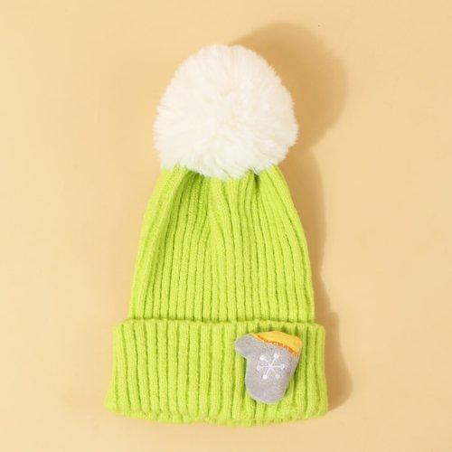 Bonnet avec détail gant - SHEIN - Modalova