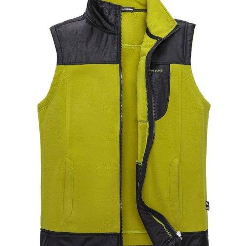 Manteau zippé bicolore - SHEIN - Modalova