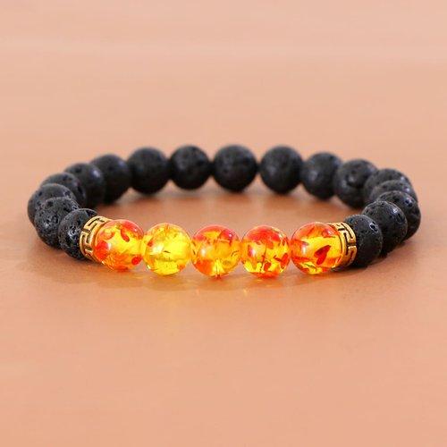 Bracelet avec perle simple - SHEIN - Modalova