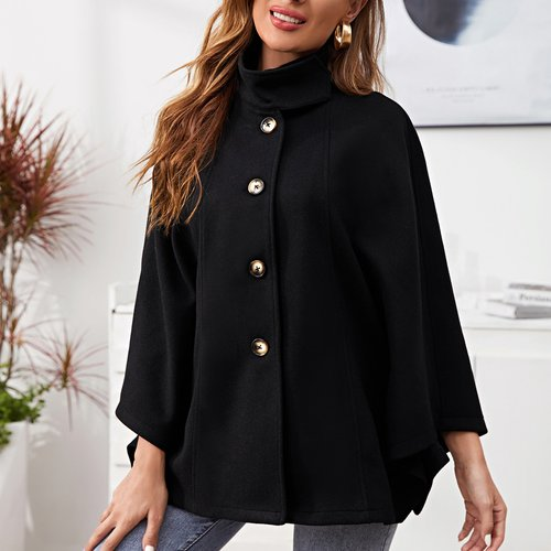 Manteau manches cape - SHEIN - Modalova