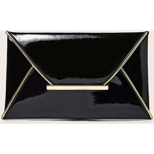 Sac enveloppe avec détail métallique - SHEIN - Modalova