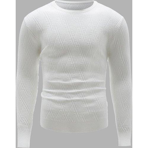 Pull en tricot texturé - SHEIN - Modalova