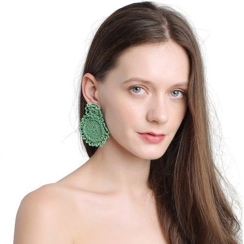 Boucles d'oreilles design perle - SHEIN - Modalova