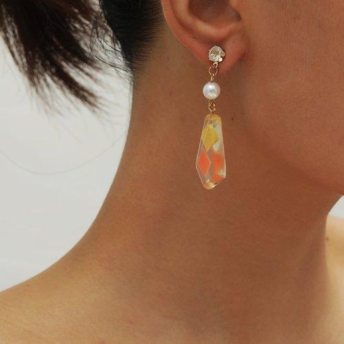 Boucles d'oreilles à fausse perle - SHEIN - Modalova