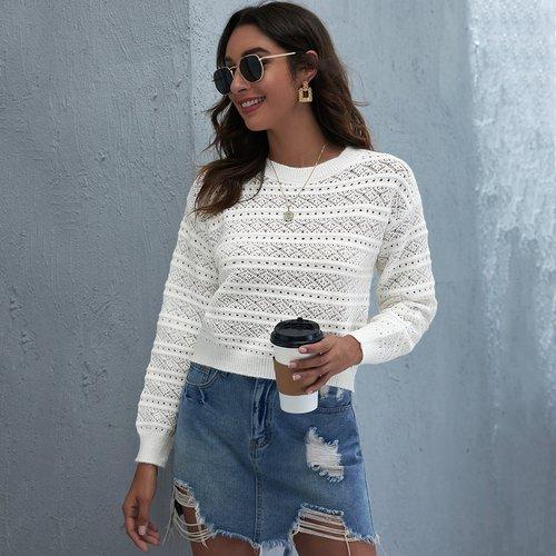 Pull en tricot - SHEIN - Modalova