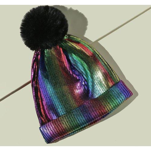 Bonnet avec pompon - SHEIN - Modalova