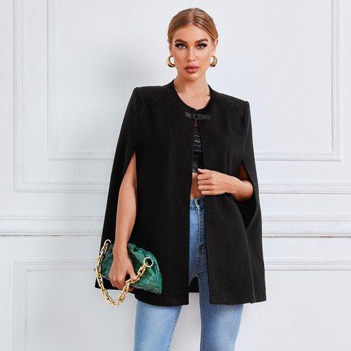 Manteau cape avec boucle - SHEIN - Modalova