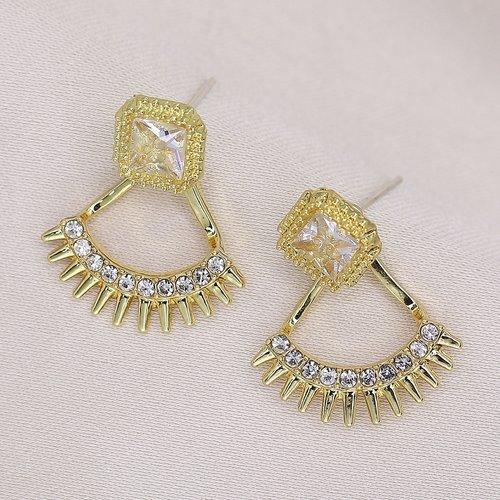 Boucles d'oreilles fantaisie avec strass - SHEIN - Modalova