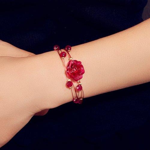 Bracelet avec perle - SHEIN - Modalova