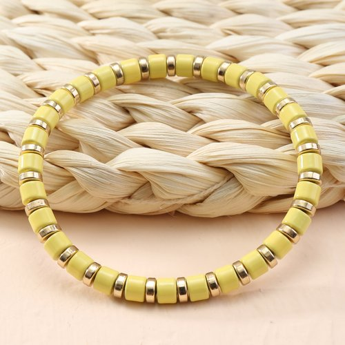 Bracelet avec perle bohémien - SHEIN - Modalova