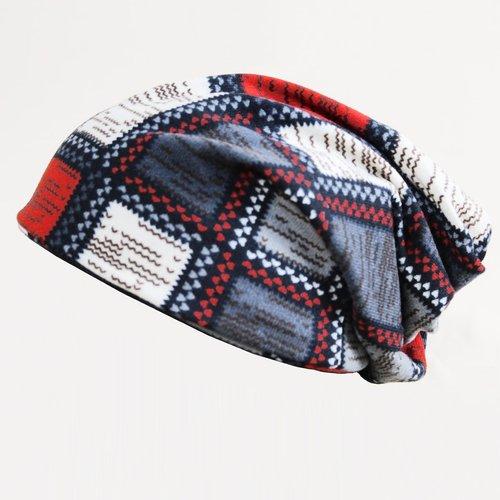Homme Bonnet foulard à carreaux - SHEIN - Modalova