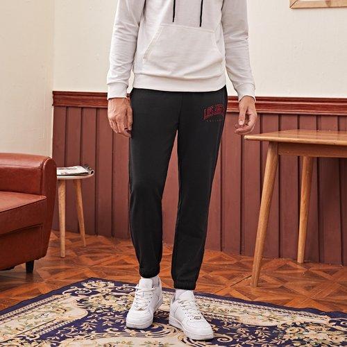Pantalon de survêtement avec imprimé - SHEIN - Modalova