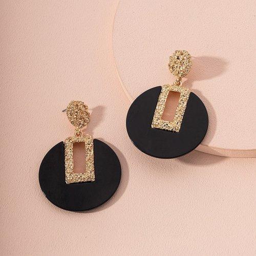 Boucles d'oreilles à métal - SHEIN - Modalova