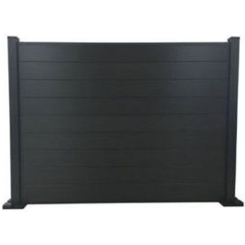 Blooma Neva Aluminium Slotted Fence post (H)1.39m (W)70mm  Set