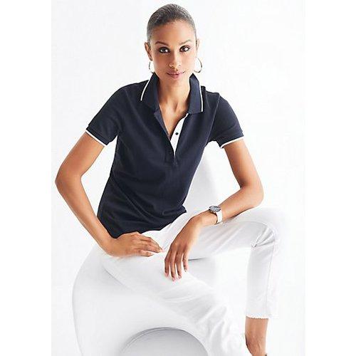MADELEINE Polo femme marine / bleu - Madeleine - Modalova