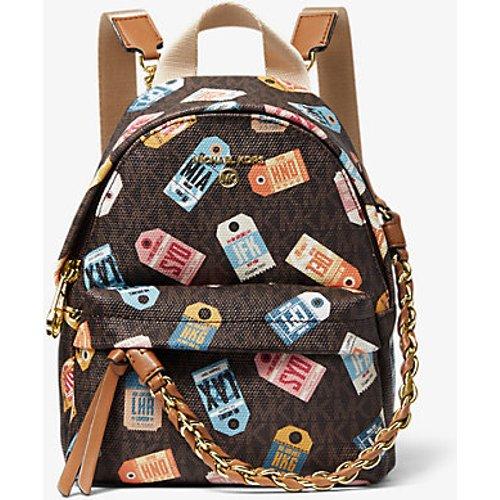 MK Très petit sac à dos Slater à imprimé logo. - - Michael Kors - MICHAEL Michael Kors - Modalova