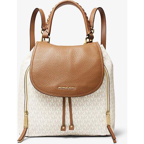 MK Grand sac à dos Viv en cuir à logo - / - Michael Kors - MICHAEL Michael Kors - Modalova