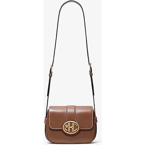MK Petit sac porté épaule Monogramme en cuir - - Michael Kors - MICHAEL KORS COLLECTION - Modalova