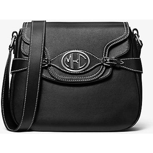 MK Sac porté épaule Monogramme en cuir avec rabat sur le devant - - Michael Kors - MICHAEL KORS COLLECTION - Modalova