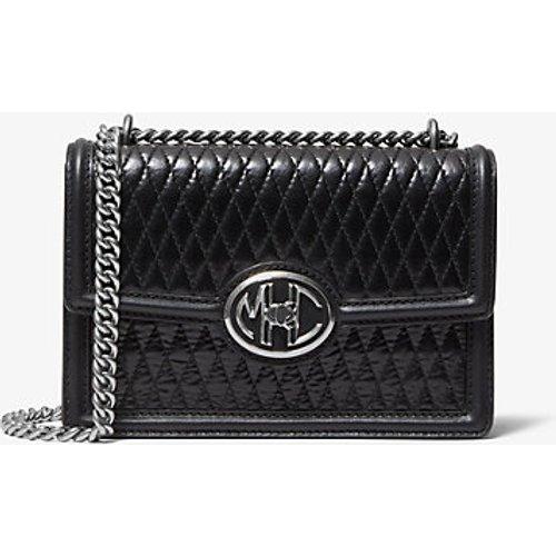 MK Petit sac porté épaule Monogramme en cuir matelassé avec chaîne - - Michael Kors - MICHAEL KORS COLLECTION - Modalova
