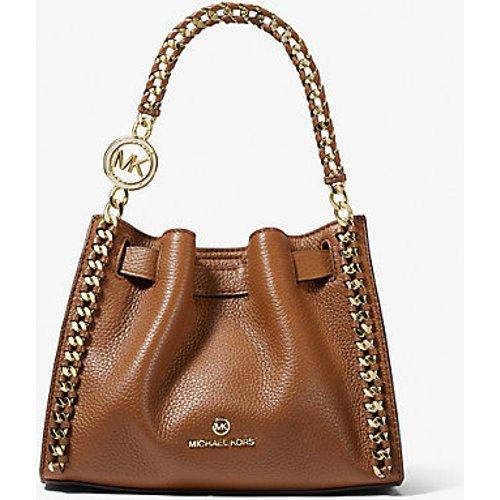 MK Petit sac à bandoulière Mina en cuir grainé - - Michael Kors - MICHAEL Michael Kors - Modalova