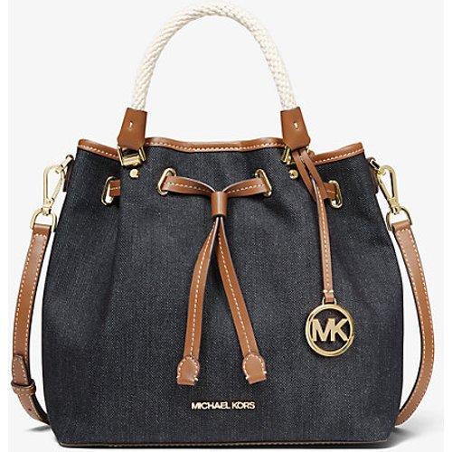 MK Grand sac seau Blakely en denim - - Michael Kors - MICHAEL Michael Kors - Modalova
