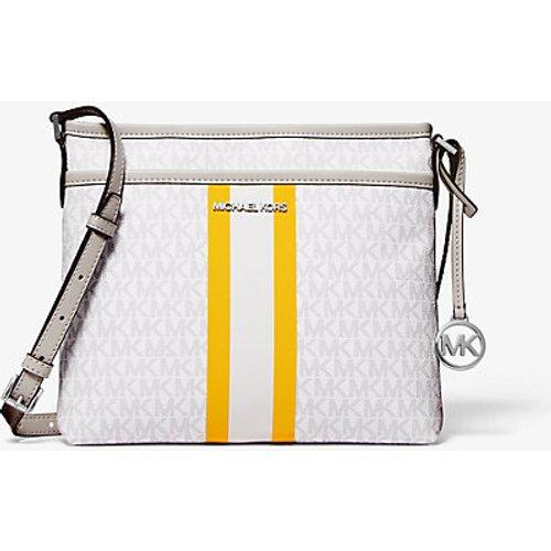 MK Petit sac à bandoulière Bedford à rayures et à logo - - Michael Kors - MICHAEL Michael Kors - Modalova